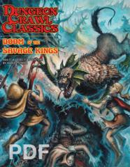 Dungeon Crawl Classics: Doom of the Savage Kings