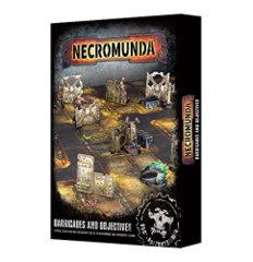 Necrom Barricades and Objectives