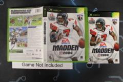 Madden NFL 2004 - Case