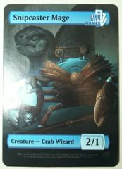 Snipcaster Mage: Creature - Crab Wizard 2/1 (Foil)