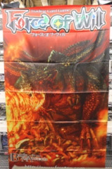 Force of Will Cloth Banner: Battle for Attoractia Alice Cluster Chapter IV - Bloodfire Dragon