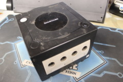 Black GameCube Console (DOL-001): Parts or Repair Only - Sold as is