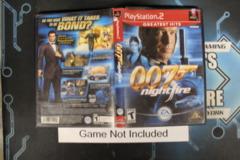 007 Nightfire (Greatest Hits) - Case