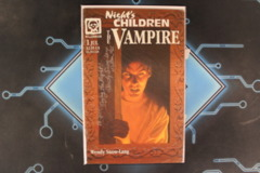 Night's Children: The Vampire #1 Signed by Wendy Snow-Lang with Personalized Inscription
