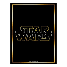 Star Wars Logo Sleeves 60 Count