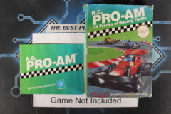 R.C. Pro-Am - Case and Manual, No Game