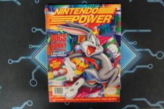 Nintendo Power Feb Vol. 57 W/ cards & Poster