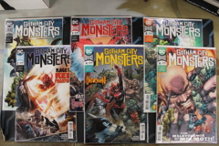 Gotham City Monsters - Issues # 1A, 2, 3, 4, 5, 6 (2019)
