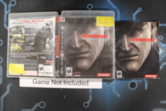 Metal Gear Solid 4: Guns of the Patriots - Case