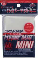 KMC Hyper MAT Mini - White 62x89mm 60pcs.