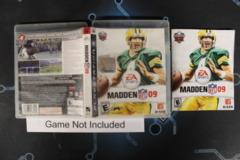Madden NFL 09 - Case