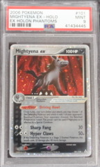 Mightyena EX-Holo 101 PSA 9 MINT