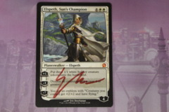 Elspeth, Sun's Champion Signed by Artist LP