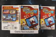 Rayman Raving Rabbids: TV Party - Case
