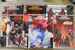Event Leviathan - Issues # 1A, 2A, 3A, 4A, 5A, 6A (2019)