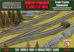 Train Tracks Expansion (6) Flames of War BB185