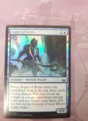 Augur of Bolas Foil MM2017 Faded Name Bar