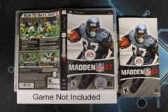 Madden NFL 07 - Case