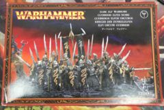Warhammer Age of Sigmar Dark Elf Warriors - Opened (No UPC)