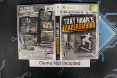 Tony Hawk's Underground (Platinum Hits) - Case