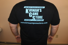 Kirwan's Game Store T-Shirt - Black