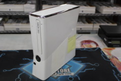 Xbox 360 S Gloss White Console Only (4 Gig. Hard Drive)