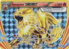 Arcanine Break - XY180 - Arcanine Break Evolution Box Promo
