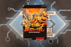 Breath of Fire Instruction Manual