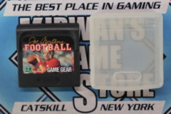 Joe Montana Football with Storage Case