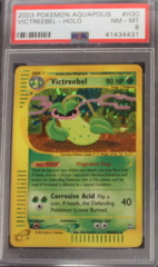 Victreebel-Holo H30/H32 PSA 8 NM-MT Aquapolis