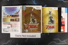 The Legend of Zelda: Skyward Sword - Case