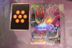 DBS TCG Colossal Warfare Oversized Jumbo Buy a Box Leader, Demigra