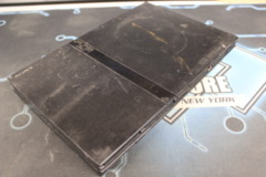 Black Playstation 2 Console (SCPH-75001): Parts or Repair Only - Sold as is