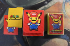 Mario Pikachu Deck Box, Sleeves (60) and Dividers