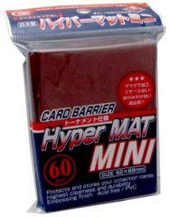 KMC Hyper MAT Mini - Red 62x89mm 60pcs.
