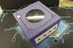 Gamecube Purple Console System Only reset buttons may stick