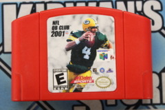 NFL QB Club 2001 (Red Cartridge)