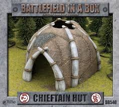 Battlefield in a Box Chieftain's Hut BB540