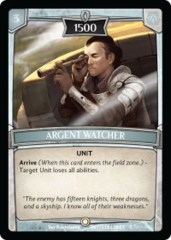 Argent Watcher