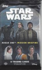 Star Wars Rogue one: Mission Briefing pack