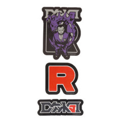 Pokemon Center Secret Teams Stickers - Team Rocket