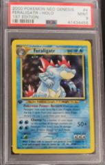 Feraligatr-Holo 4/111 PSA 9 1st Edition Neo Genesis