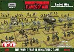 Barbed Wire (4) BB132 Flames of War