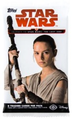 Journey To Star Wars: The Last Jedi Topps 8 card pack