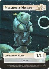 Manateery Mentor: Creature - Monk 1/1 (Foil)