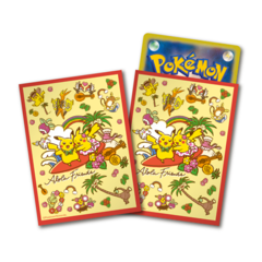 Pokemon Alola Friends Sleeves 64 Count