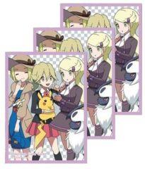 Pokemon Center Kalos Girls Sleeves 64 Count