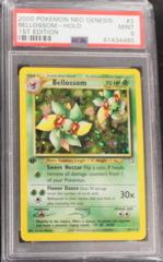Bellossom-Holo 3/111 PSA 9 MINT Neo Genesis