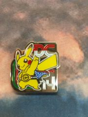 Pokemon World Championship 2014 DC Pin