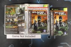 Tom Clancy's Splinter Cell: Pandora Tomorrow (Platinum Hits) - Case